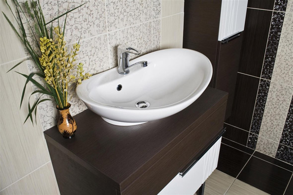 накладная раковина для ванной