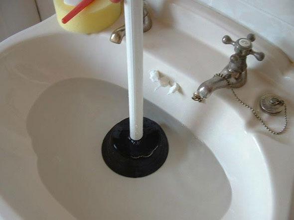 удаление засора канализации
