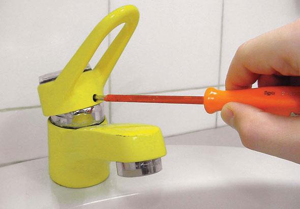 ремонт крана в ванной