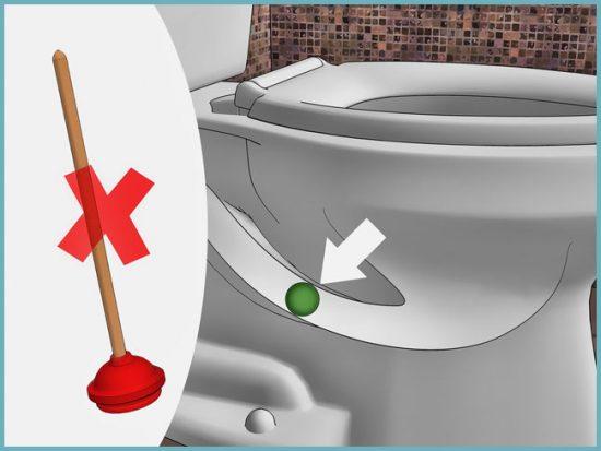 как удалить предмет, забивший канализацию