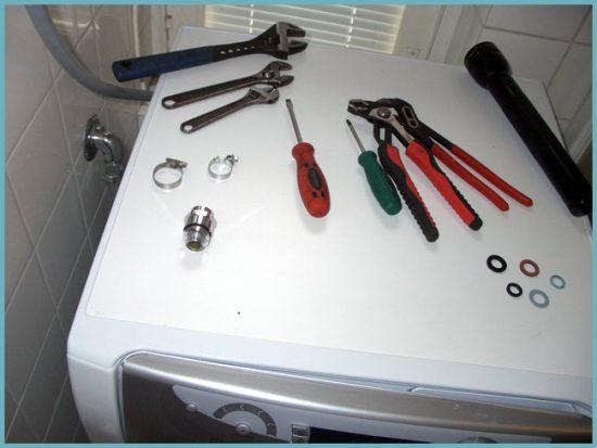 что необходимо для установки стиральной машины