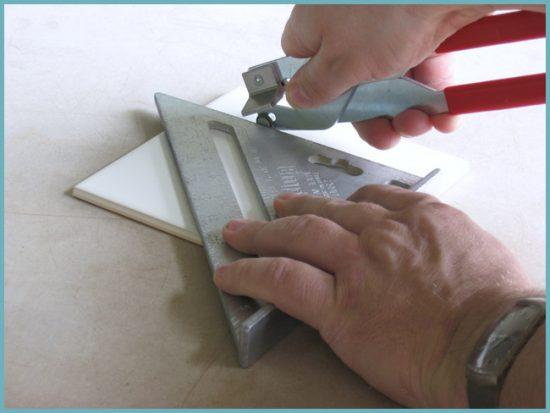 как порезать плитку