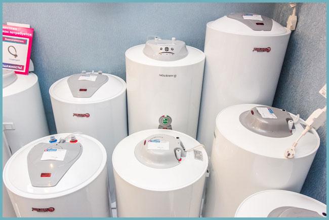 объем электрического водонагревателя