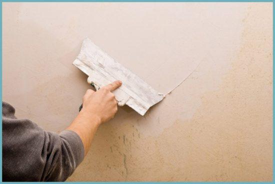 подготовка стены для укладки мозаики
