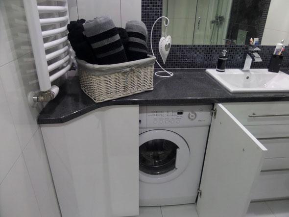 Раковина с тумбой под стиральную машину