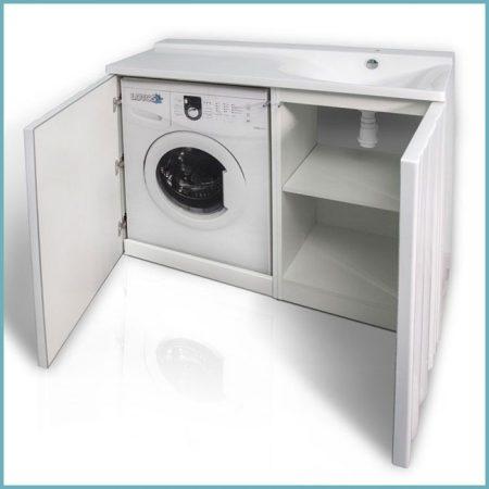 как установить тумбу под стиральную машину