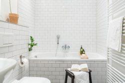 Ванная в скандинавском стиле