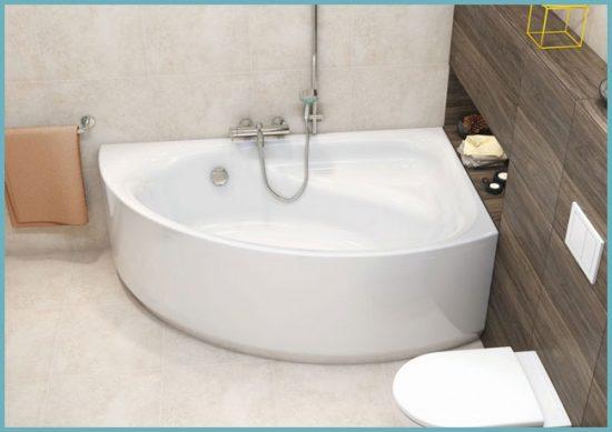 как поставить ванну в маленькой комнате
