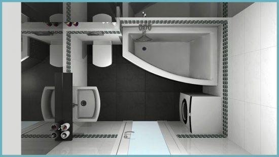 преимущества угловой ванны