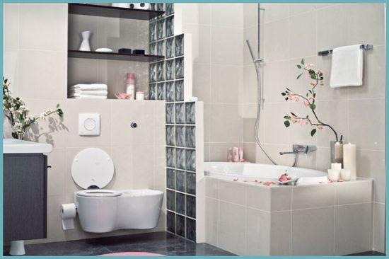 декор для ванной в японском стиле