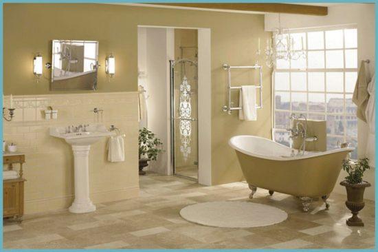 сантехника для ванной в английском стиле