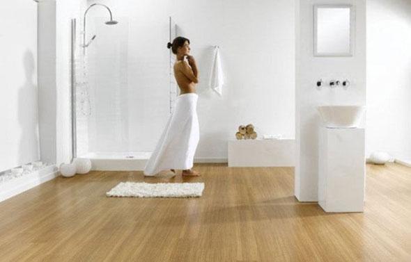 ламинат в ванную