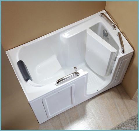 сидячая ванна из акрила