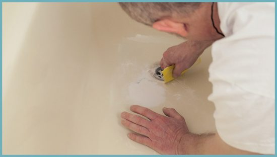 как ремонтировать ванну