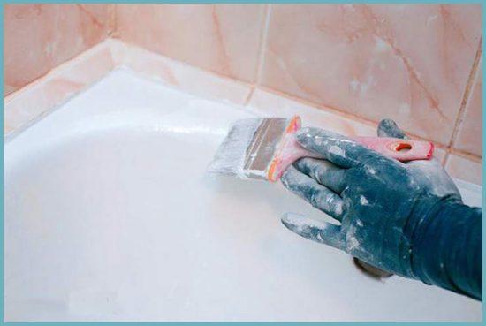чем реставрировать ванну