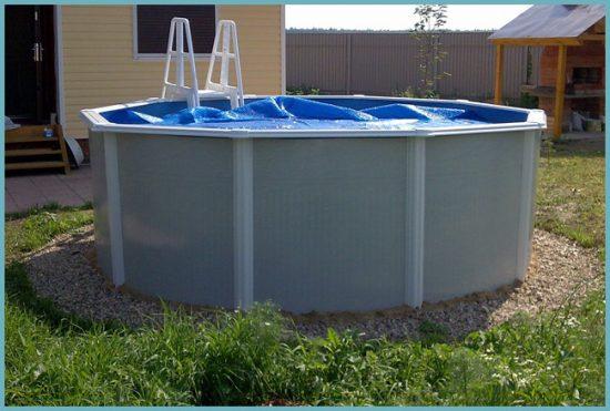 установка бассейна