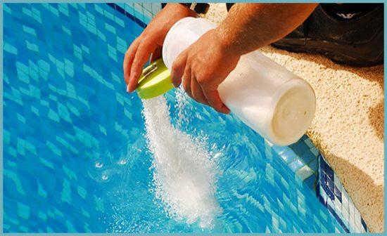 как очистить воду в бассейне
