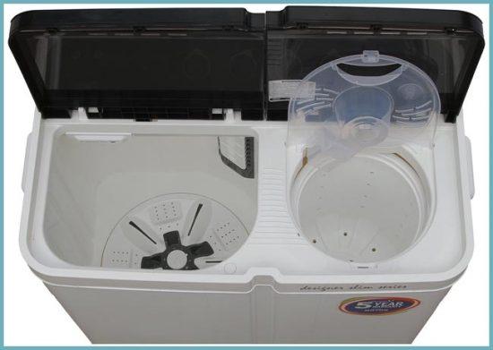 как работает стиральная машинка полуавтомат