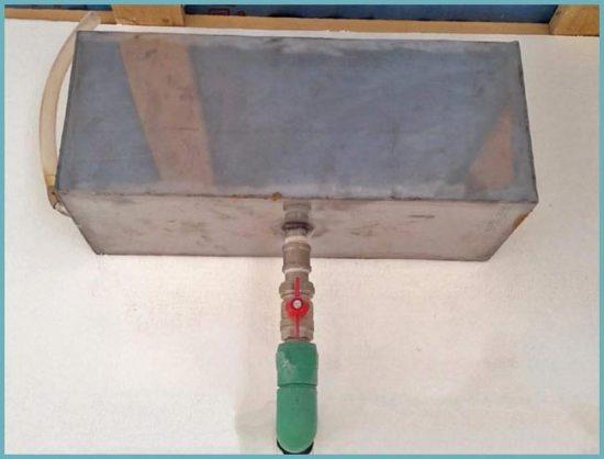 бак для системы отопления