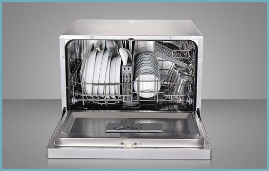габариты настольной посудомоечной машины