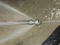Гидродинамическая чистка канализации