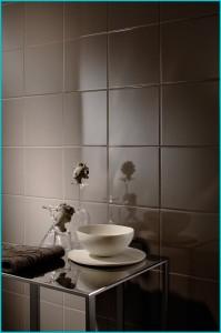 Дизайн коричневой ванной комнаты