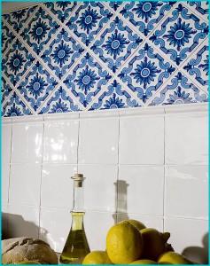 Дизайн синей ванной комнаты